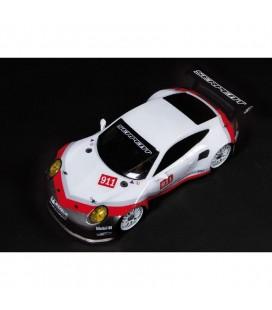 BODY 1/8 GT PORSCHE 911 CLEAR PRECUT LWB
