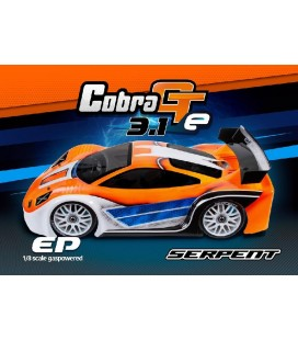 SERPENT COBRA GTE 1/8 EP 3.1