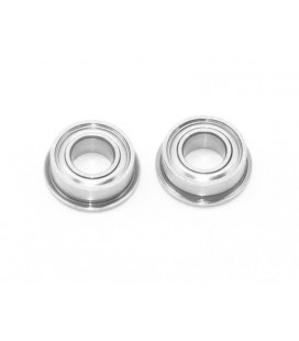 BALL BEARING 4x8x3MM FLANGED SS (2U)