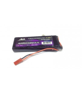 AM LIPO 1400Mah 7.4V RECEIVER PACK GP