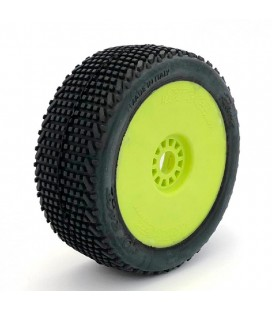 HOT RACE ROMA SOFT TYRES YELLOW RIMS (2)