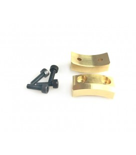 UPRIGHT WEIGHT BRASS 15gr SRX8 (2U)