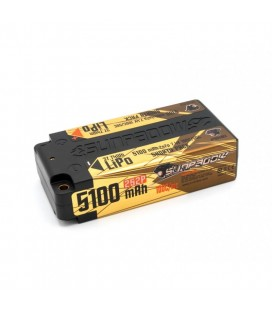 SUNPADOW LIPO SHORTY 7,4V 5100MAH GOLD