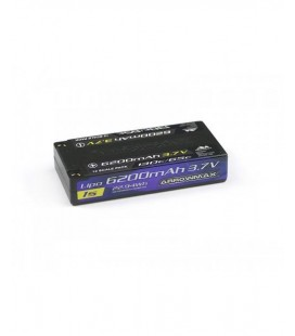 AM LIPO 6200MAH 1/12 SCALE 3,7V 130-65C
