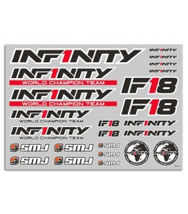 INFINITY IF18 DECAL (BLACK/1pc)