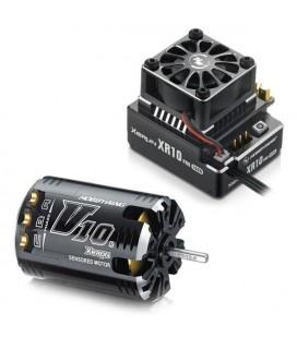 XERUN XR10 PRO ESC & XERUN V10 G2 4,5T