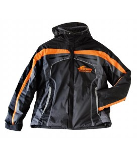 WINTER JACKET SERPENT BLACK-ORANGE (M)