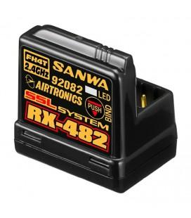 SANWA RX-482 2,4GHZ CAR RECEIVER