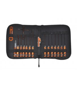 TOOL SET FOR ON ROAD (17 pcs) WITH BAG