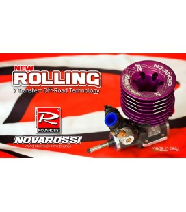 NOVAROSSI ROLLING 3,5cc OFF ROAD ENGINE