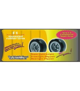 GQ F1 REAR RUBBER TYRES