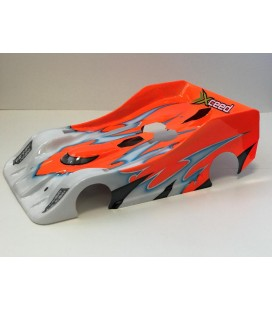 XCEED 1/8 BODY C-18 R PRECUT SERPENT