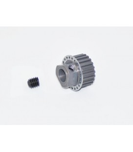 PULLEY 2-SPEED AXLE 21T ALU