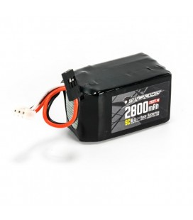LIPO RECEIVER BATTERY CUBE 2800MAH 7,4V