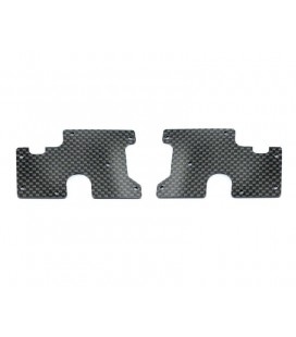 WISHBONE INSERT CARBON REAR LOW V2 SRX8
