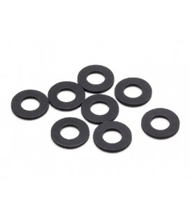 RUBBER BODY MOUNT SPACER M (6x12x1.0mm)
