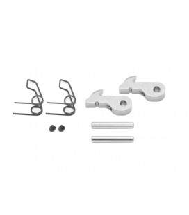 LEVER ALU/SPRING/PIN OS2 FRONT (2U)