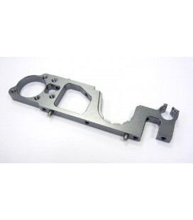 BRACKET FRONT LEFT ALU