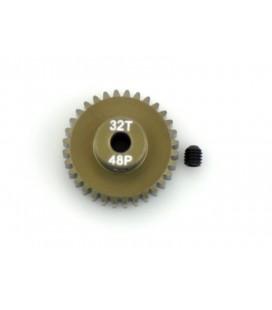 MOTOR-PINION ALU HARD 48P / 17T