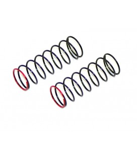 SHOCK SPRING RED 3.1LBS FRONT (2U) SC
