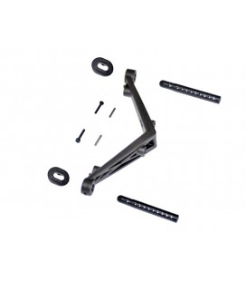 BODY MOUNT SET REAR SRX2 SC