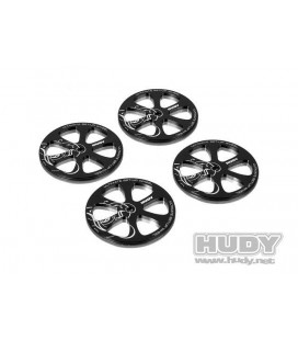 HUDY SET UP WHEELS 1/10 TOURING (4U)