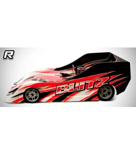 BLITZ TS035 1/8 ON ROAD RACE BODY 0,8MM