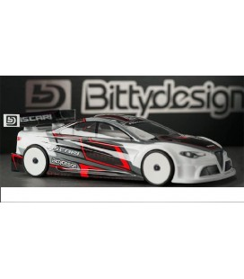 BITTYDESIGN ASCARI 190MM TC BODY CLEAR