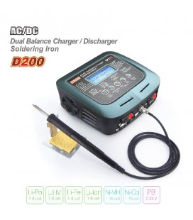 SKYRC D200 DUAL CHARGER SOLDERING IRON