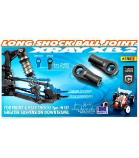 SHOCK BALL JOINT 21MM (2U)