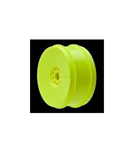 AKA 1/8 BUGGY EVO WHEELS YELLOW (4 PCS.)