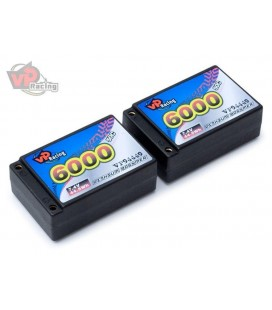 VAPEX LIPO BATTERY SADDLE 7,4V 6000MAH