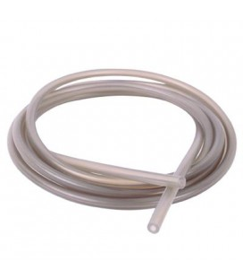 SILICON FUEL TUBE TRANSPARENT GRAY 90CMS