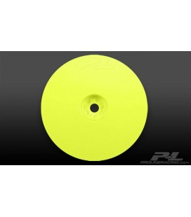 "VELOCITY 2.2"" HEX FRONT YELLOW WHEELS 2U"