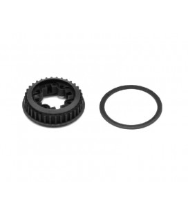 GEARDIFF PULLEY 34T FRONT SRX4