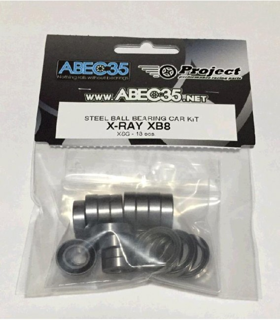 KIT ABEC35 XRAY XB8 TYPE-X STEEL XSG