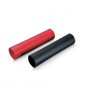 HEAT SHRINKABLE TUBING 4,0 MM BLACK/RED
