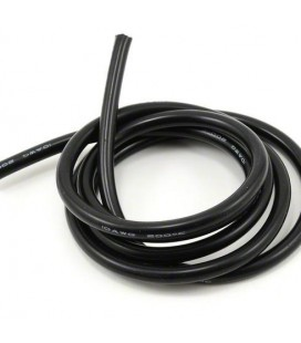 SILICONE POWER WIRE BLACK 10AWG 1 METER