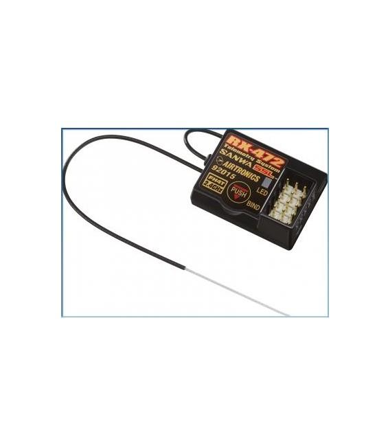 SANWA RX-472 2,4GHZ CAR RECEIVER SSR/SSL