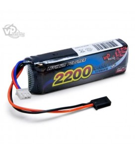 LI-PO RECEIVER BATTERY 7,4V 2200MAH 10C