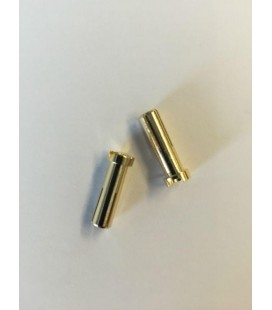 5MM GOLD MALE CONNECTOR 18MM LONG (2U)