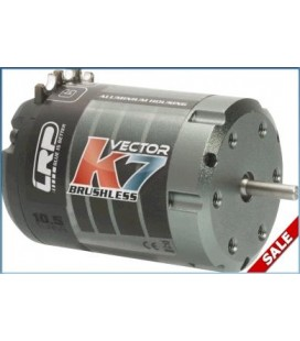 LRP VECTOR K7 BRUSHLESS MOTOR 10.5T