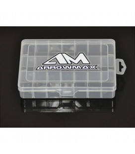 21-COMPARTMENT PARTS BOX (196x132x41MM)