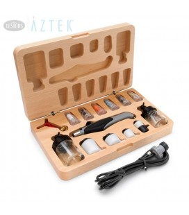 AZTEK A470 DOUBLE ACTION AIRBRUSH SET