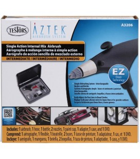 AZTEK A320 SINGLE ACTION AIRBRUSH SET
