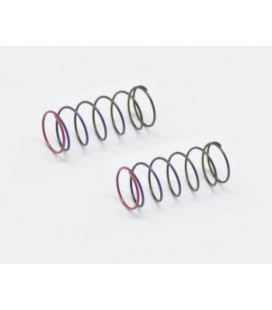 SHOCK SPRING RED 3.0LBS FRONT (2) SRX2