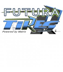 FUTURA TYRES 1/10 YELLOW WHEEL FRONT 40