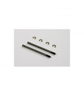 SHOCKSHAFT REAR 3x51MM (2U) 2WD
