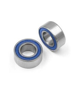 HIGH SPEED BALL BEARING 5x10x4 RUBBER 2U