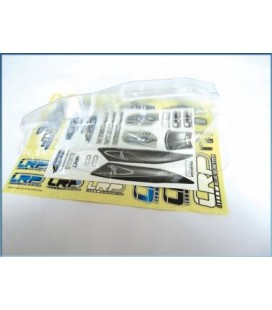 BODY SHELL CRYSTAL CLEAR S10 TWISTER BX